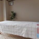 北浜の部屋 施術ベッド
